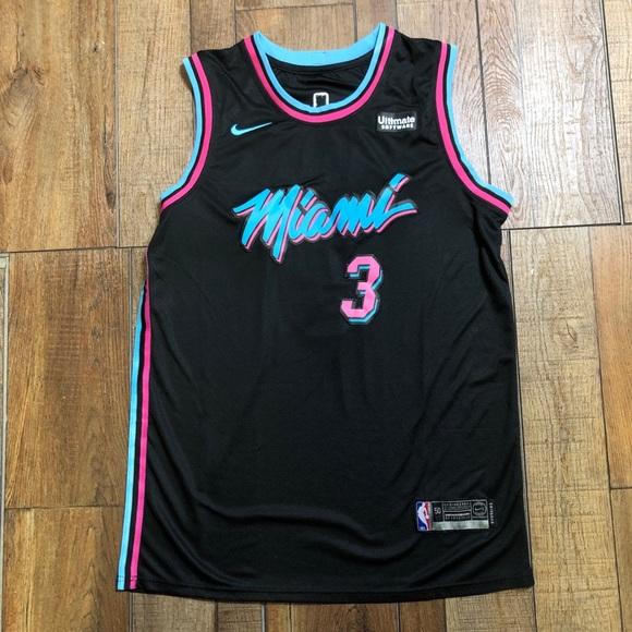 best sneakers 405aa fbc2e NEW Dwayne Wade Miami Vice Heat NBA Jersey 🔥🔥